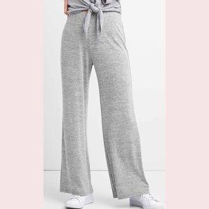 Gap soft spun wide leg pants